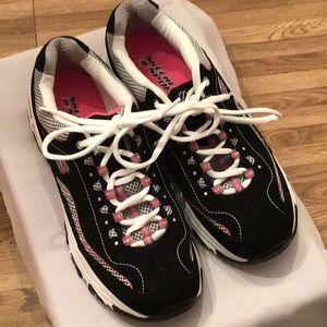 Ladies Skechers Life Saver D'Lites Like New Sz 8 M
